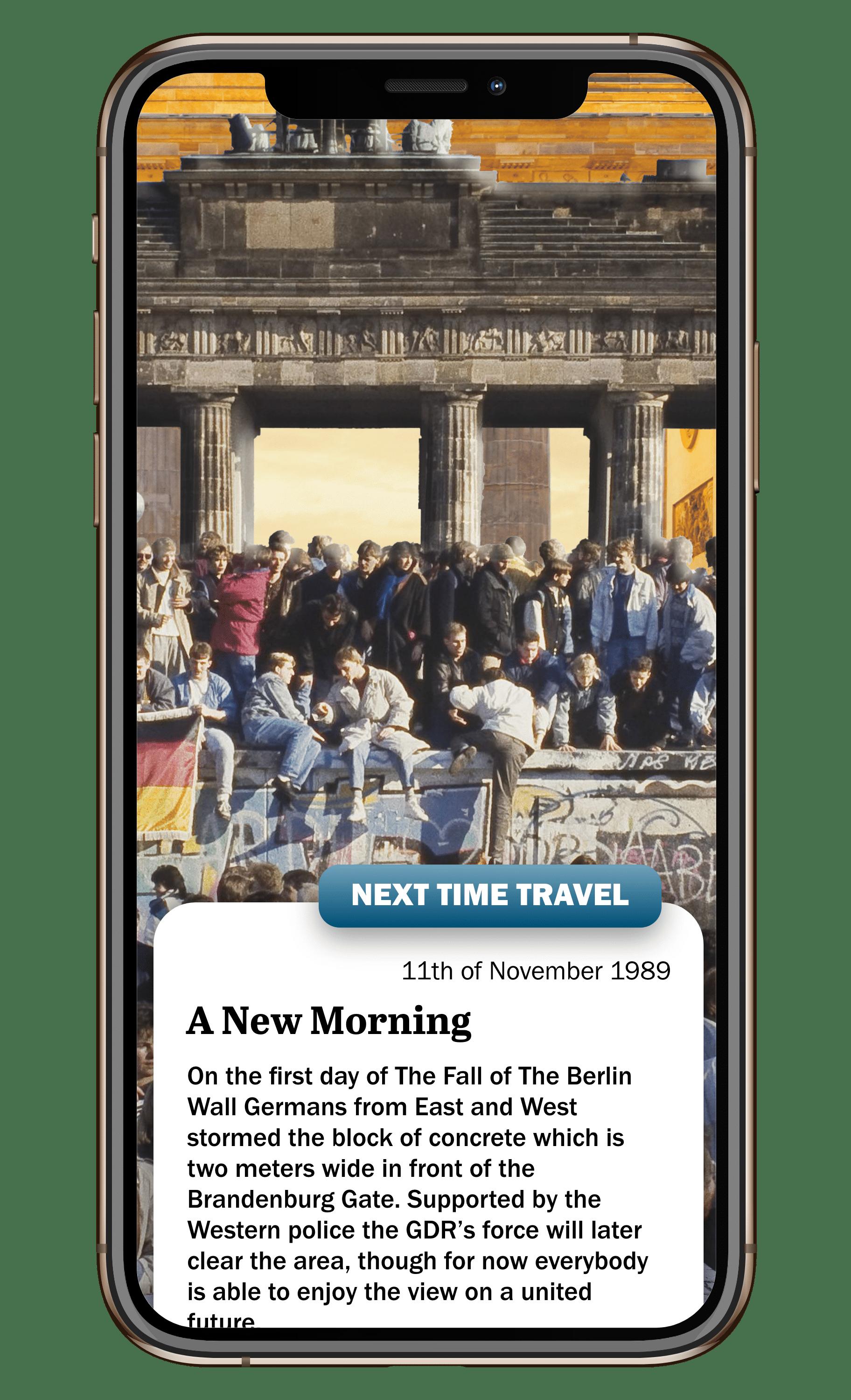 Brandenburger Tour Berliner Mauer